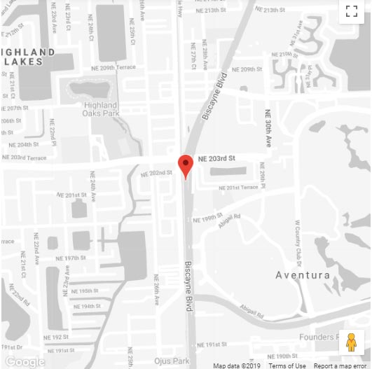 Beauty-Salon-North-Miami-Florida-Map